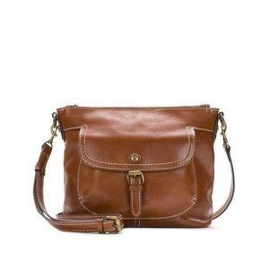Patricia Nash Siena Pocket Sling Heritage Tan Bag